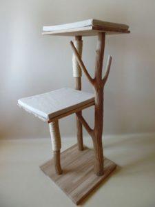 arbre à chat design bois