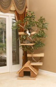construire un arbre à chat original