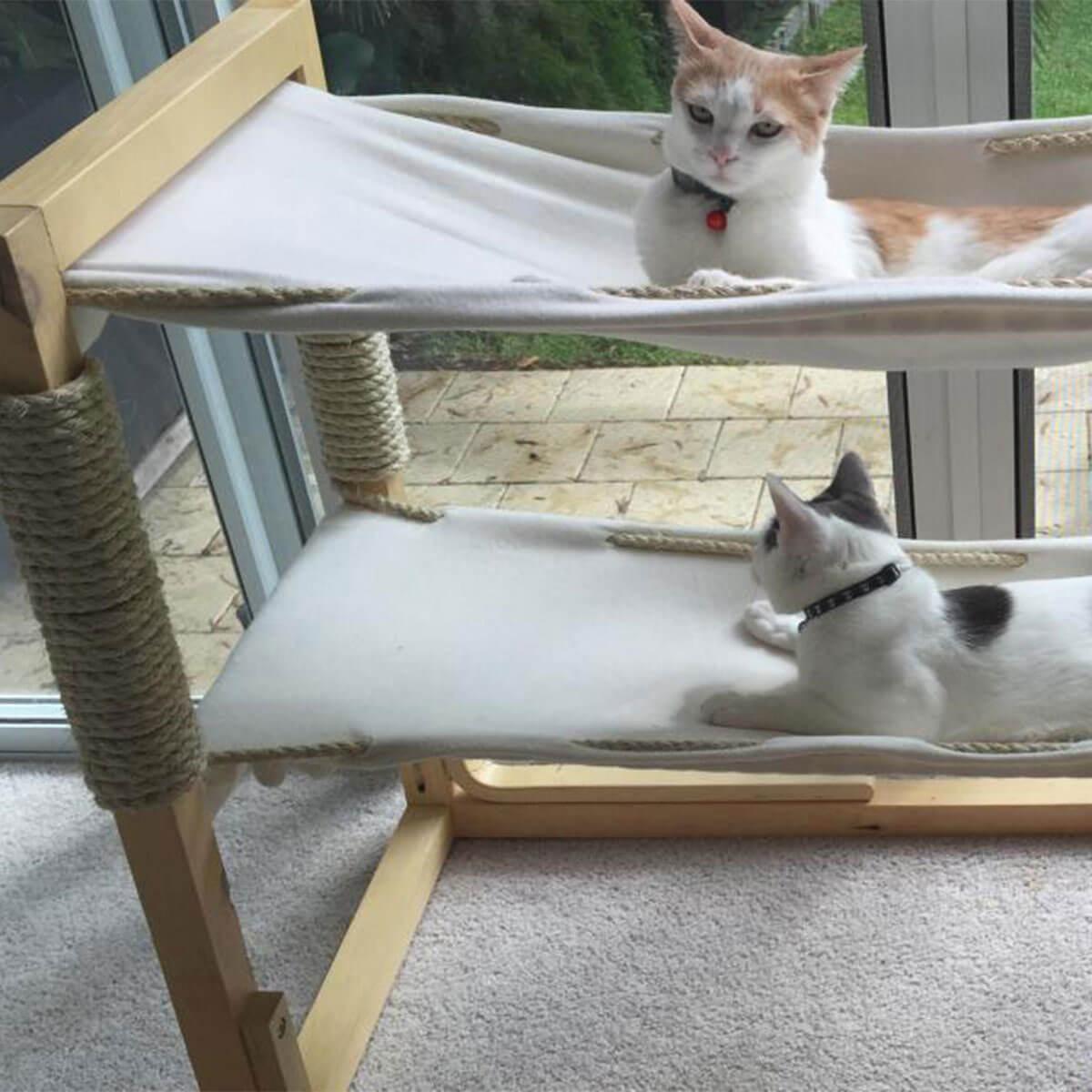Griffoir Chat Fait Maison construire un arbre à chat diy ⇒ nos meilleurs conseils