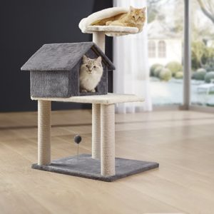intégration arbre a chat maison