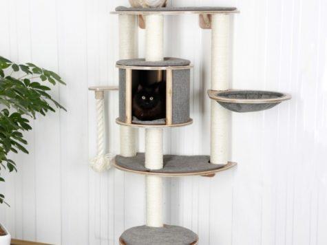 intégrer un arbre à chat dans son intérieur