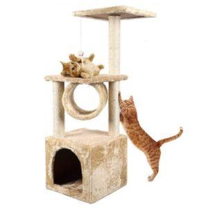 arbre pour chat avec jouet